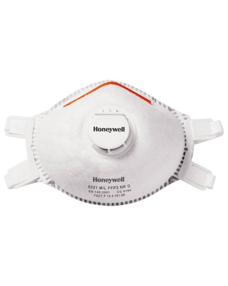 MASCHERINA HONEYWELL 5321-V2 FFP3 NR D - CONFEZIONE DA 5 PEZZI