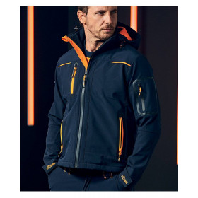 GIACCA SOFTSHELL U-POWER SPACE LINEA FUTURE