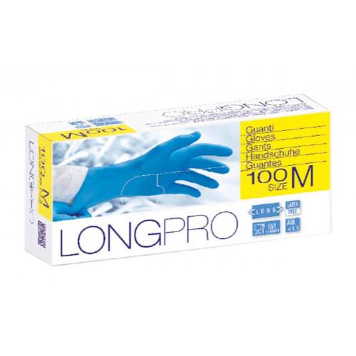 GUANTO NITRILE ICO GUANTI LONG PRO POWDER FREE - BOX 100 PEZZI