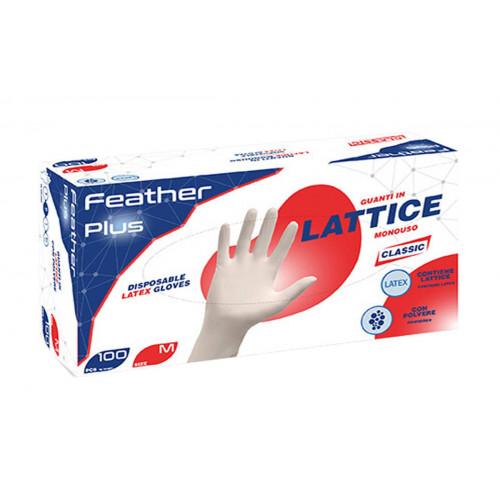 GUANTO LATTICE REFLEXX FP FEATHER PLUS - BOX DA 100 PEZZI